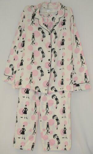 Morgan Taylor Intimates Pajama Set Ladies Medium Bubble People Grade B