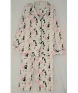 Morgan Taylor Intimates Pajama Set Ladies Medium Bubble People Grade B - $17.99