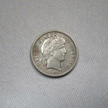 1904-P Silver Barber Dime AU Details Coin AH534 - $43.47