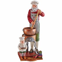 Lenox 2017 Pencil Santa Figurine Annual Santa's Fudge Shop Elf Christmas NEW - $99.99