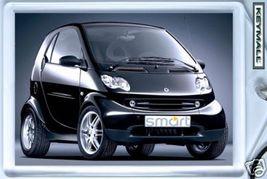 Beau Porte Clé clés Clef SMART FORTWO Coupe Noir N - $9.95