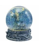 Dragon Wizard snowglobe sorcerer apprentice snowdome water ball Vandor music box - $148.50