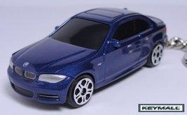 Porte clé BMW 1 Coupe Bleu 118d/120d/123d/120i/125i/135 - $24.95