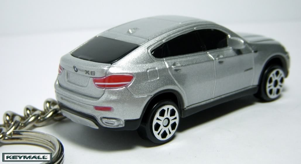 rare porte cle bmw x6 x 6 series argent silver 4x4 key chain keychains. Black Bedroom Furniture Sets. Home Design Ideas
