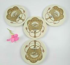 Vintage Fitz & Floyd Fanfare Pattern Salad Plates - Set of 4 - Made in J... - $45.00