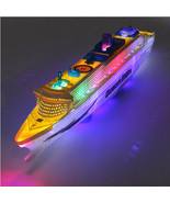 Liner Ship Boat Electric Ocean Toy Led Kid Flash Gift Sounds Light Light... - $18.37