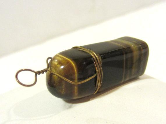Vintage Tiger's eye pendant