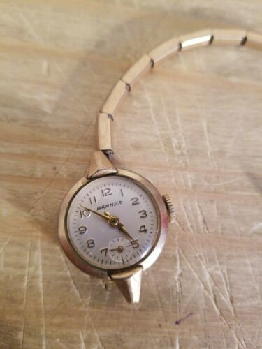 Primary image for VINTAGE RARE BENNER WOMEN WATCH.BAND UNHOOKED.UNTESTED.SOLD AS IS.