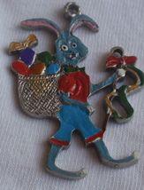 Metal miniature Bunny children figure - $23.00