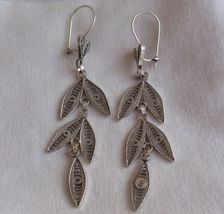 Beautiful leaves earrings - $25.00