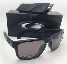 Polarized Oakley Sunglasses Holbrook OO9102-90 Matte Black Frame w/ Prizm Daily - $199.99