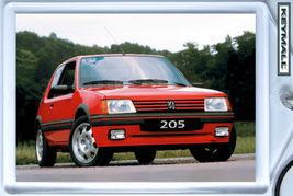 Ancien Model Porte Clé clés Clef PEUGEOT 205 GTI R - $9.95