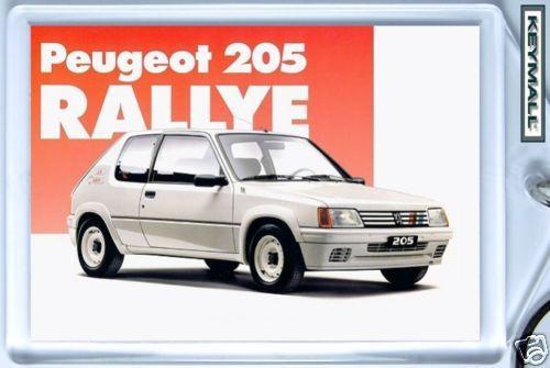 PEUGEOT 205 RALLYE 1.3 Porte-clés