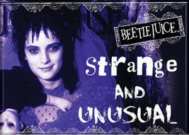 Beetlejuice Movie Lydia Photo Image Strange & Unusual Refrigerator Magne... - $3.99