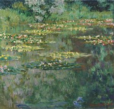 The Nympheas Basin Painting by Claude Monet Art Reproduction - $34.99+