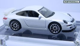 RARE PEARL WHITE PORSCHE 911 GT3 SHOWROOM DISPLAY MODEL - $9.95