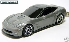 Porte Clé 2009~2010 Chevy/Chevrolet Corvette 6 ZR1 Gris - $27.97