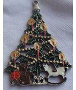 Metal miniature Christmas tree - $27.00