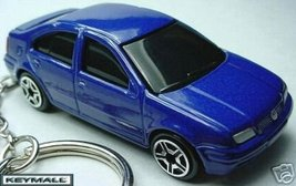 Key Chain 1999~~2006 Blue Vw Jetta Bora Keyring TAG/FOB - $32.95