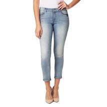 Nine West Gramercy Skinny Roll Cuff Ankle Jeans Biscayne Women's Sz 4-8 Nwt - $26.39