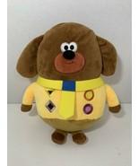 Hey Duggee plush puppy dog growling sound yellow stuffed toy Studio AKA ... - $9.89