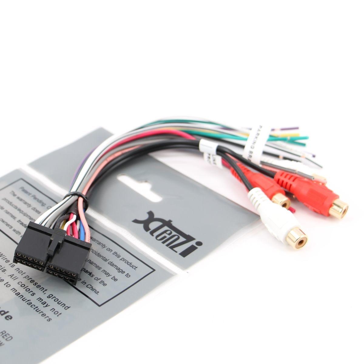 xtenzi 20 pin wire harness for jensen sd1513 vm9510 vm 9510 nontouch screen  new