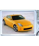 KEY CHAIN 2006/2007/2008/2009 YELLOW NISSAN 350Z KEYTAG - $9.95