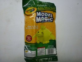 3x On The Go Crayola Model Magic - .5 oz Yellow, 1 Blk Marker and Activity Sheet - $7.91