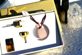 Gemstone Aromatherapy Essential Oil Diffuser Necklace (Rose Quartz) - $49.99