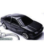 RARE VOLKSWAGEN BLACK VW JETTA/BORA KEY CHAIN RING FOB - $38.95