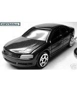 KEYRING 2002~~2006 BLACK AUDI A8 KEY CHAIN RING... - $24.98