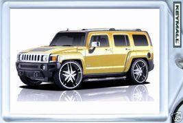 Keytag 2004~2010 Yellow Hummer H3 Dub Key Chain Keyring - $9.95