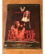 The Sinful Nuns of Saint Valentine (DVD) BRAND NEW / FACTORY SEALED *RAR... - $24.75