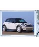 KEY CHAIN 2007/2008/2009/2010 WHITE MINI COOPER KEYTAG - $9.95