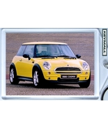KEY CHAIN YELLOW/YELLOW TOP NEW BMW MINI COOPER KEYTAG - $9.95
