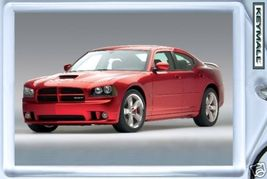 KEYTAG 07~08~2009~2010 RED DODGE CHARGER SRT8 KEY CHAIN - $9.95