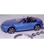 KEY CHAIN Z3 BLUE BMW Z-3 M ROADSTER/CABRIOLET FOB/TAG - $24.95