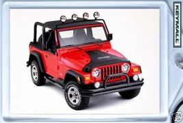 KEY CHAIN 2004/2005/2006/2007 RED JEEP WRANGLER... - $9.95