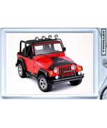 KEY CHAIN 2004/2005/2006/2007 RED JEEP WRANGLER KEYTAG - $9.95