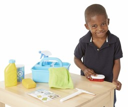 Melissa Doug Spray, Squirt amp Squeegee Play Set - Pretend Play Cleaning NEW - $34.81