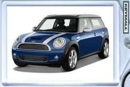 Key Chain 08/2009/2010 Blue Mini Cooper Clubman Keytag - $9.95