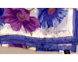 Halston periwinkle orchid silk scarf 1 thumb155 crop