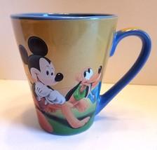 Rare Jerry Leigh Disney Mickey Minnie Pluto Coffee Tea Mug Cup - $21.77