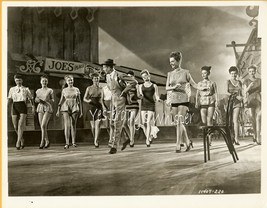 Fred Astaire Olga San Juan Leggy Show Girls 2 Photos - $12.95