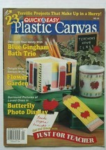 Quick & Easy Plastic Canvas Magazine August September 1998 number 55 - $3.95