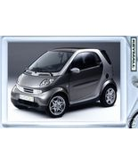 KEYTAG GRAY SMART FORTWO PASSION COUPE KEY CHAI... - $9.95