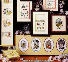 Cross Stitch & Needlepoint Four Seasons Anne Young - $3.00