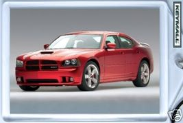 Keytag 2008~2009~2010 Red Dodge Charger SRT8 Key Chain - $9.95