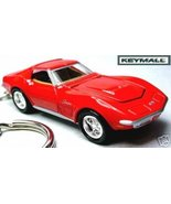 KEY CHAIN 1969/1970/1971 RED CHEVY 70 CORVETTE ... - $39.98