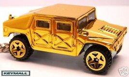 KEYCHAIN 92~97~98~99~2000~2001~2002~2003 GOLD HUMMER H1 - $34.95